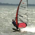 Deutsche Meisterschaft im Speedwindsurfen vom 07.-15.09.2013 auf Fehmarn in Orth